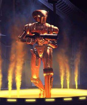 HK-47 - HK-47, from Star Wars: Knights of the Old Republic (2003).