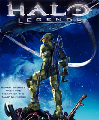 Halo Legends - Special edition DVD/Blu-ray Disc cover