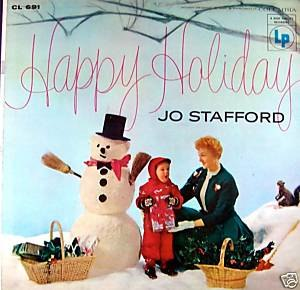 Happy Holiday (Jo Stafford album) - Image: Happy holiday stafford
