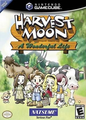 Harvest Moon: A Wonderful Life - Harvest Moon: A Wonderful Life U.S. GameCube box cover