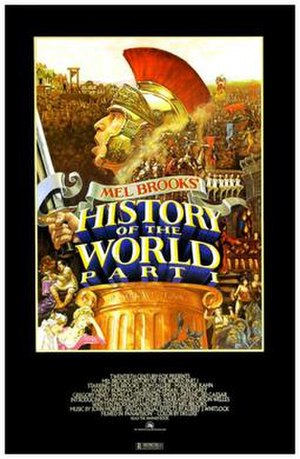 History of the World, Part I - Theatrical release poster