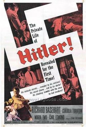 Hitler (1962 film) - 1962 Theatrical poster