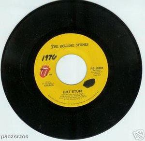 Hot Stuff (The Rolling Stones song) - Image: Hot Stuff