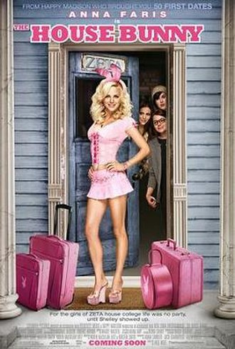 The House Bunny - Theatrical release poster