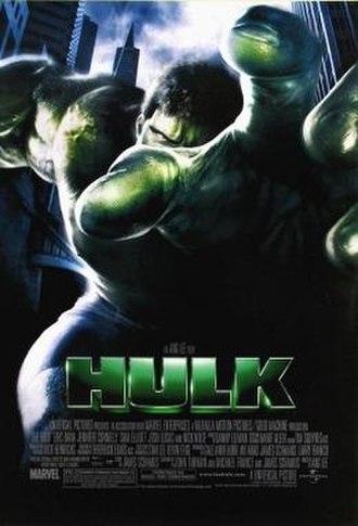 Hulk (film) - Theatrical release poster
