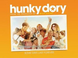 Hunky Dory (film) - Promotional poster