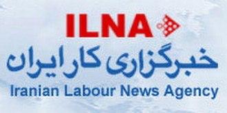 Iranian Labour News Agency - ILNA logo