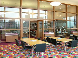 Indianapolis Public Library - Nina Mason Pulliam Special Collections - Reading Room in October 2007
