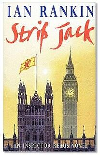 <i>Strip Jack</i> 1992 crime novel by Ian Rankin