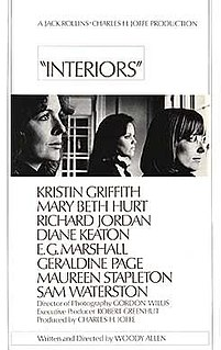 1978 film by Woody Allen