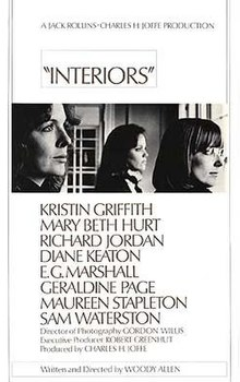 Interiors Moviep. Directed By, Woody Allen