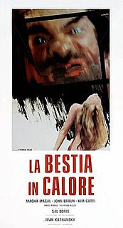 <i>La Bestia in calore</i> 1977 film by Luigi Batzella