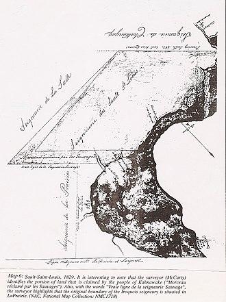 Kahnawake - Image: Landclaim