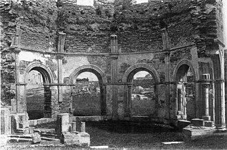 Mellifont Abbey - The Lavabo, 1902