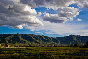 Laveen, Arizona - South Mountains above Laveen