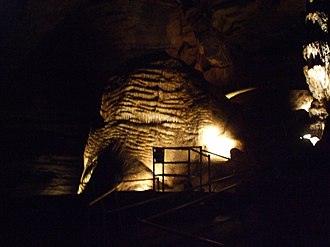 Marvel Cave - Image: Liberty Bell Formation