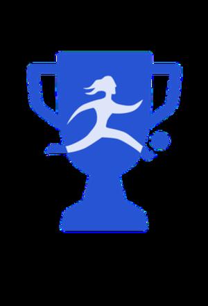 Primera División (women) - Old logo of the league.