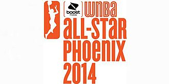 2014 WNBA All-Star Game - Image: Logo for the 2014 WNBA All Star Game