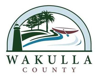 Wakulla County, Florida - Image: Logo of Wakulla County Florida in 2013
