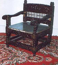 Malankara Throne,The throne used for this consecration of Mar Thoma I in 1653