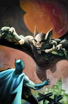 Man-Bat - Wikipedia Manspider Vs Manbat