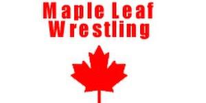 Maple Leaf Wrestling - Image: Maple Leaf Wrestling Logo