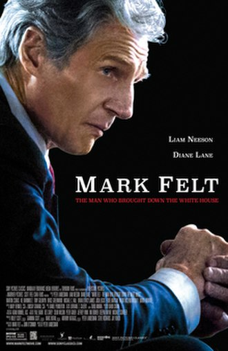Mark Felt: The Man Who Brought Down the White House - Theatrical release poster
