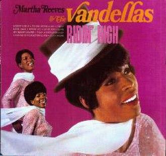 Ridin' High (Martha and the Vandellas album) - Image: Martharidin