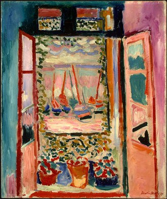 The Open Window (Matisse) - Image: Matisse Open Window