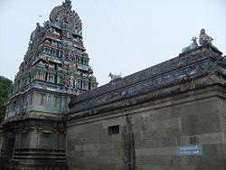 The town is named after Mayuranathaswami Temple