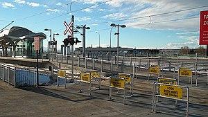 McKnight–Westwinds station - Image: Mcknightwestwindsct