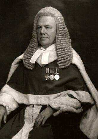 Melford Stevenson - Image: Melford Stevenson portrait