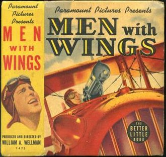 Men with Wings - Photobook image derived from theatrical poster