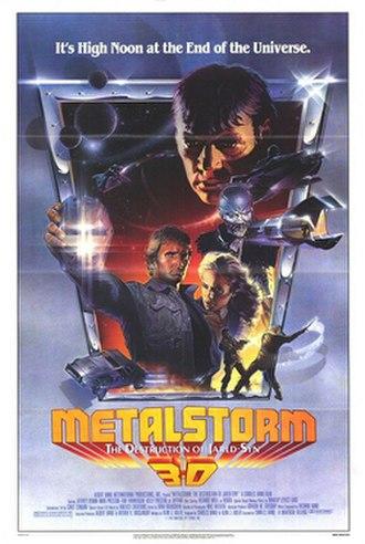Metalstorm: The Destruction of Jared-Syn - Original movie poster