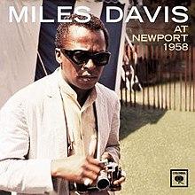 Image result for miles davis newport 1958