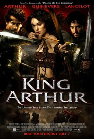 King Arthur (2004 film) - Theatrical release poster