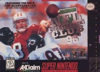 <i>NFL Quarterback Club 96</i> 1995 video game