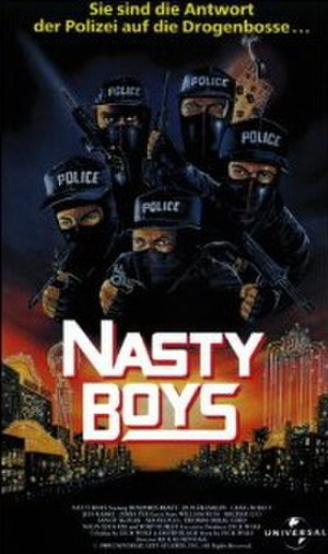Nasty Boys (film) - Image: Nasty Boys VHS Cover