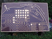 A map of the National Historic District.