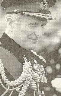 Nigel Bagnall British Army officer and Chief of the General Staff