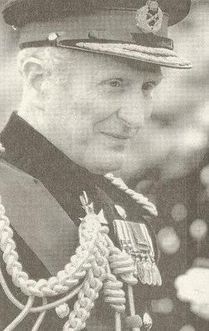 Nigel Bagnall - Field Marshal Sir Nigel Bagnall c.1989