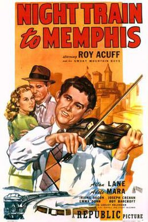 Night Train to Memphis - Theatrical release poster