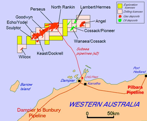 North West Shelf Venture - North West Shelf Venture leases and infrastructure