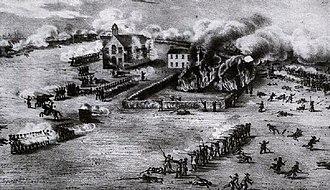 Battle of Odelltown - Battle at Odelltown.
