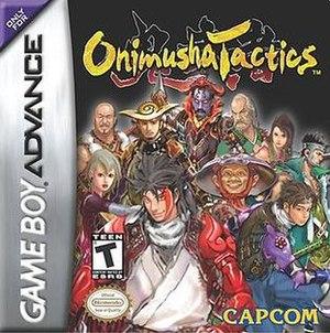 Onimusha Tactics - Image: Onimusha Tactics cover