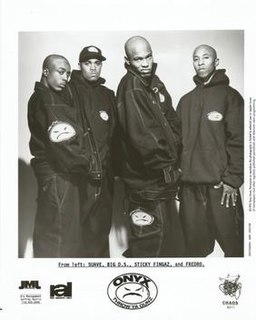 Onyx (hip hop group) American hardcore hip hop group