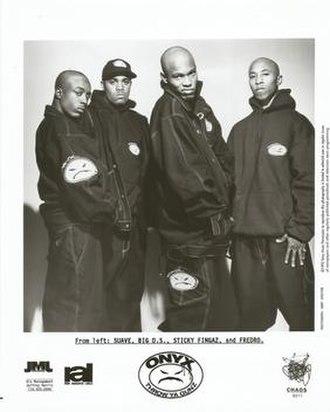 Onyx (hip hop group) - Image: Onyx (hip hop group)