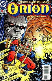 Cover for Orion #1 (June 2000). Art by Walt Simonson