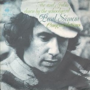 Me and Julio Down by the Schoolyard - Image: PAUL SIMON me and julio