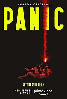 <i>Panic</i> (TV series) 2021 American teen drama streaming television series